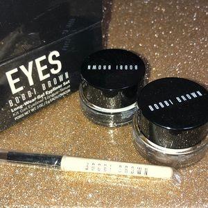 Bobbi Brown long wear gel eyeliner set
